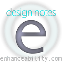 design notes enhanceability.com